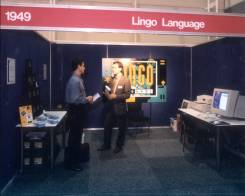 Exhibitor stand at PC95