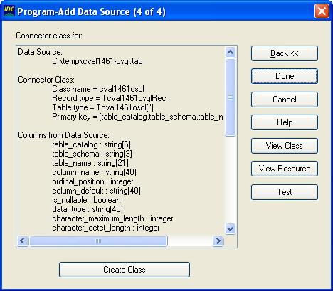 Add Data Source Wizard (step 2)